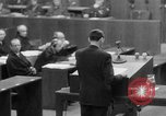 Image of war crimes trials Nuremberg Germany, 1947, second 20 stock footage video 65675071945