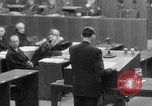 Image of war crimes trials Nuremberg Germany, 1947, second 21 stock footage video 65675071945