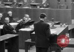 Image of war crimes trials Nuremberg Germany, 1947, second 22 stock footage video 65675071945