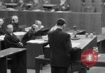 Image of war crimes trials Nuremberg Germany, 1947, second 23 stock footage video 65675071945