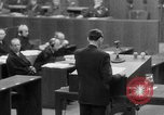 Image of war crimes trials Nuremberg Germany, 1947, second 24 stock footage video 65675071945