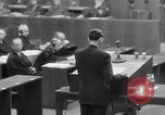 Image of war crimes trials Nuremberg Germany, 1947, second 26 stock footage video 65675071945