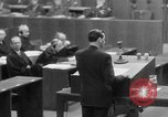 Image of war crimes trials Nuremberg Germany, 1947, second 27 stock footage video 65675071945