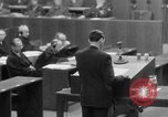 Image of war crimes trials Nuremberg Germany, 1947, second 29 stock footage video 65675071945