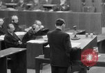 Image of war crimes trials Nuremberg Germany, 1947, second 30 stock footage video 65675071945