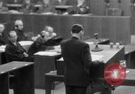 Image of war crimes trials Nuremberg Germany, 1947, second 32 stock footage video 65675071945