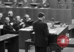 Image of war crimes trials Nuremberg Germany, 1947, second 33 stock footage video 65675071945