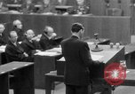 Image of war crimes trials Nuremberg Germany, 1947, second 35 stock footage video 65675071945