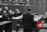 Image of war crimes trials Nuremberg Germany, 1947, second 36 stock footage video 65675071945