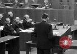 Image of war crimes trials Nuremberg Germany, 1947, second 38 stock footage video 65675071945
