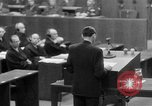 Image of war crimes trials Nuremberg Germany, 1947, second 39 stock footage video 65675071945