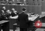 Image of war crimes trials Nuremberg Germany, 1947, second 41 stock footage video 65675071945