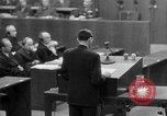 Image of war crimes trials Nuremberg Germany, 1947, second 42 stock footage video 65675071945