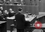 Image of war crimes trials Nuremberg Germany, 1947, second 43 stock footage video 65675071945