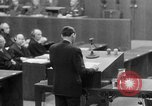 Image of war crimes trials Nuremberg Germany, 1947, second 44 stock footage video 65675071945