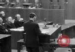 Image of war crimes trials Nuremberg Germany, 1947, second 45 stock footage video 65675071945