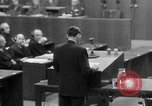 Image of war crimes trials Nuremberg Germany, 1947, second 47 stock footage video 65675071945