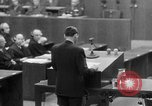Image of war crimes trials Nuremberg Germany, 1947, second 48 stock footage video 65675071945