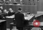 Image of war crimes trials Nuremberg Germany, 1947, second 49 stock footage video 65675071945