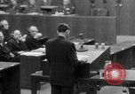 Image of war crimes trials Nuremberg Germany, 1947, second 50 stock footage video 65675071945