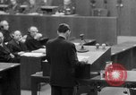 Image of war crimes trials Nuremberg Germany, 1947, second 51 stock footage video 65675071945