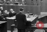 Image of war crimes trials Nuremberg Germany, 1947, second 52 stock footage video 65675071945