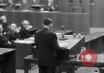 Image of war crimes trials Nuremberg Germany, 1947, second 53 stock footage video 65675071945