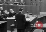 Image of war crimes trials Nuremberg Germany, 1947, second 54 stock footage video 65675071945