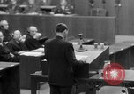 Image of war crimes trials Nuremberg Germany, 1947, second 55 stock footage video 65675071945