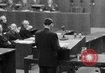 Image of war crimes trials Nuremberg Germany, 1947, second 56 stock footage video 65675071945