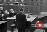 Image of war crimes trials Nuremberg Germany, 1947, second 57 stock footage video 65675071945