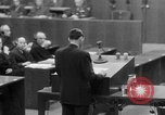 Image of war crimes trials Nuremberg Germany, 1947, second 58 stock footage video 65675071945