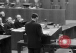 Image of war crimes trials Nuremberg Germany, 1947, second 60 stock footage video 65675071945
