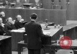 Image of war crimes trials Nuremberg Germany, 1947, second 62 stock footage video 65675071945