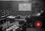 Image of war crimes trials Nuremberg Germany, 1947, second 3 stock footage video 65675071947