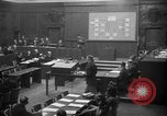 Image of war crimes trials Nuremberg Germany, 1947, second 4 stock footage video 65675071947