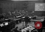 Image of war crimes trials Nuremberg Germany, 1947, second 6 stock footage video 65675071947