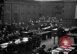 Image of war crimes trials Nuremberg Germany, 1947, second 9 stock footage video 65675071947