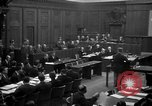 Image of war crimes trials Nuremberg Germany, 1947, second 12 stock footage video 65675071947