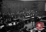 Image of war crimes trials Nuremberg Germany, 1947, second 14 stock footage video 65675071947