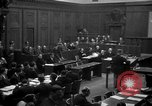 Image of war crimes trials Nuremberg Germany, 1947, second 15 stock footage video 65675071947