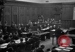 Image of war crimes trials Nuremberg Germany, 1947, second 16 stock footage video 65675071947