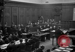 Image of war crimes trials Nuremberg Germany, 1947, second 17 stock footage video 65675071947