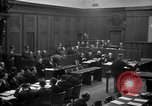 Image of war crimes trials Nuremberg Germany, 1947, second 18 stock footage video 65675071947