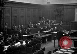 Image of war crimes trials Nuremberg Germany, 1947, second 19 stock footage video 65675071947