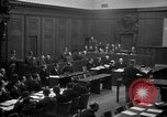 Image of war crimes trials Nuremberg Germany, 1947, second 20 stock footage video 65675071947