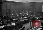 Image of war crimes trials Nuremberg Germany, 1947, second 21 stock footage video 65675071947