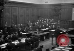 Image of war crimes trials Nuremberg Germany, 1947, second 22 stock footage video 65675071947