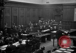 Image of war crimes trials Nuremberg Germany, 1947, second 24 stock footage video 65675071947