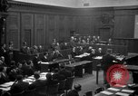 Image of war crimes trials Nuremberg Germany, 1947, second 25 stock footage video 65675071947